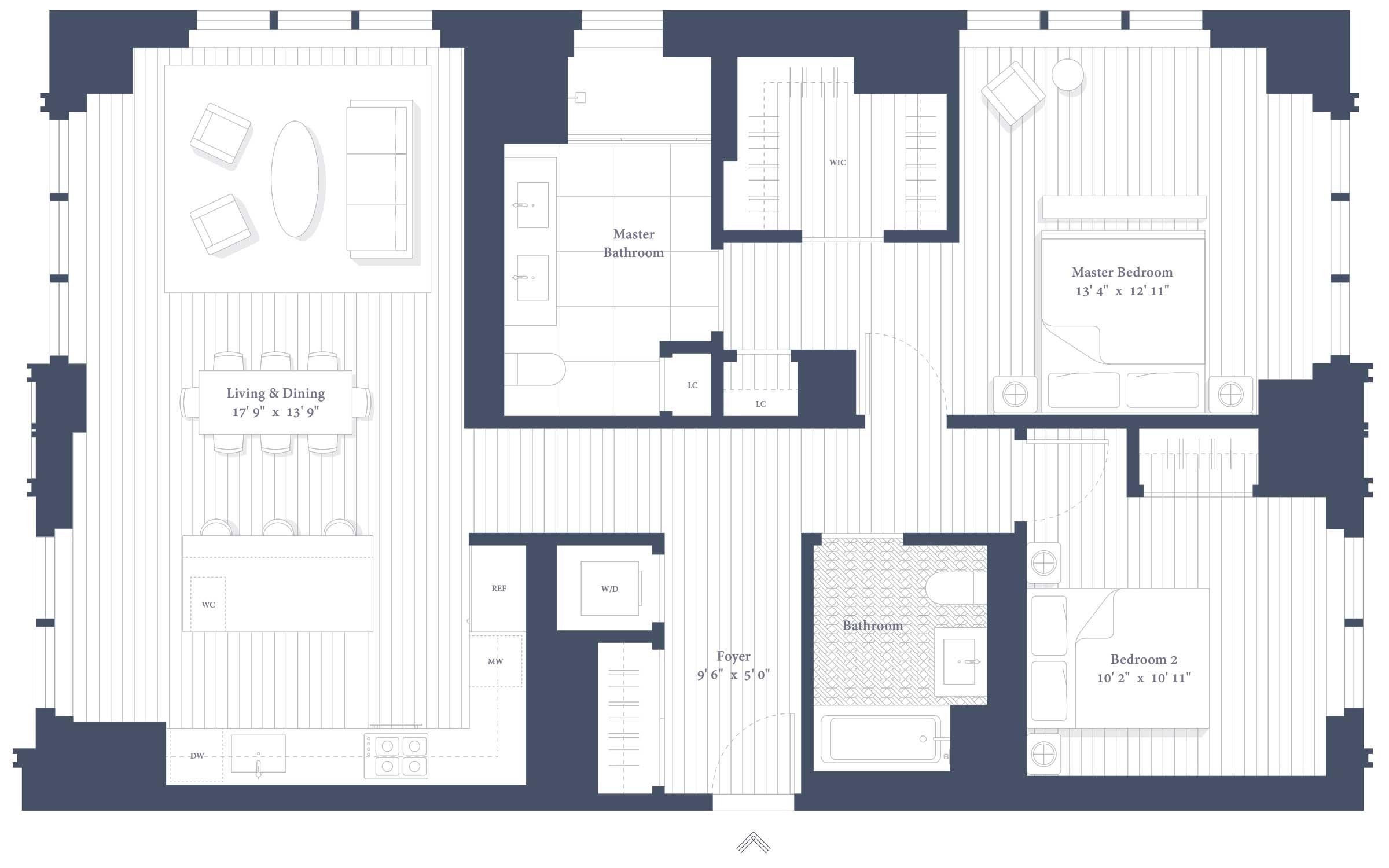 41C Floor Plan
