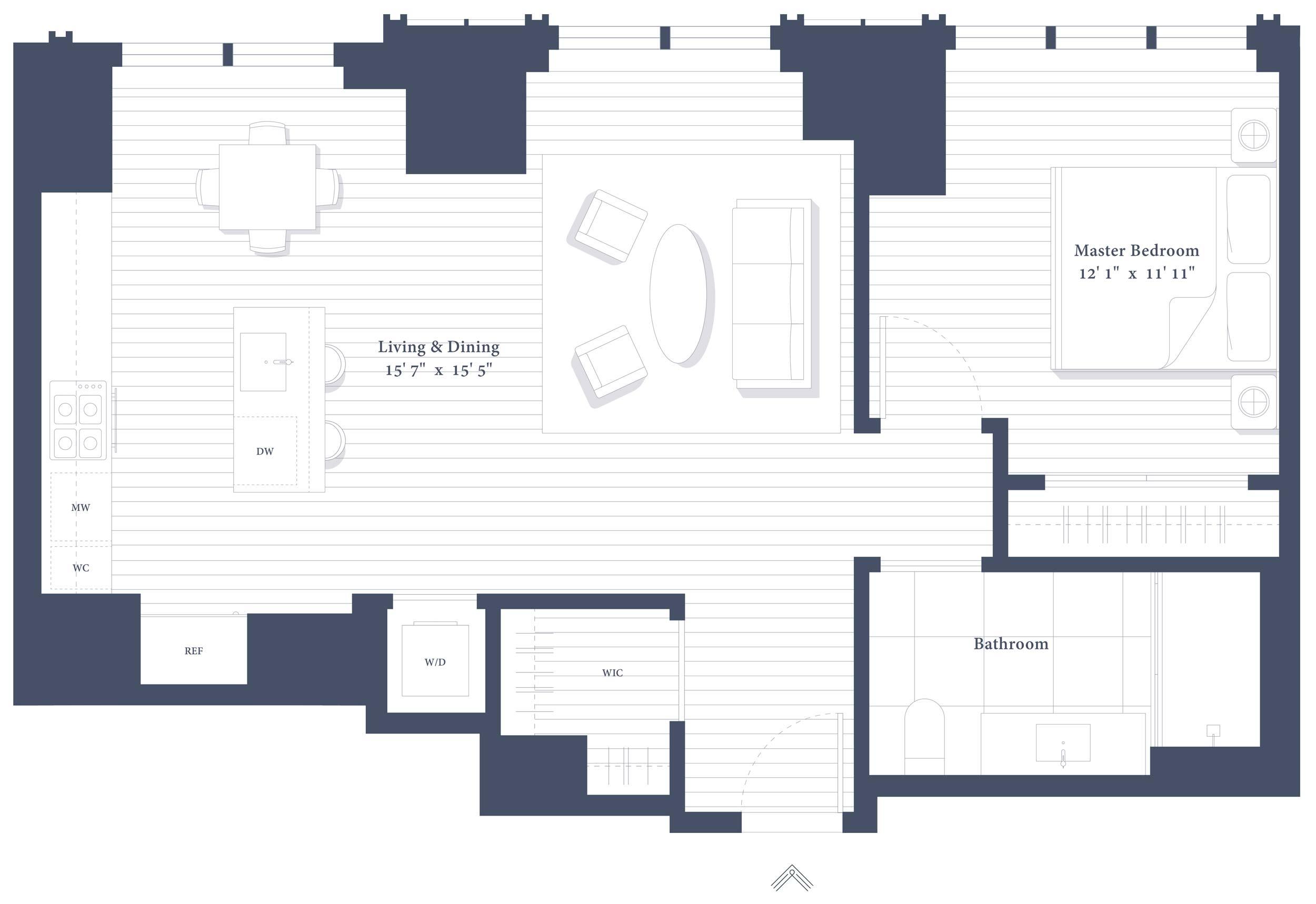 26B Floor Plan